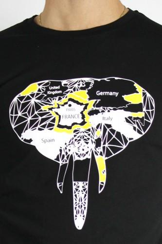 T-Shirt noir modèle 101
