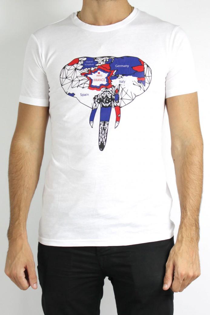 T-Shirt blanc modèle 101