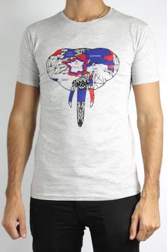 T-Shirt gris modèle 101