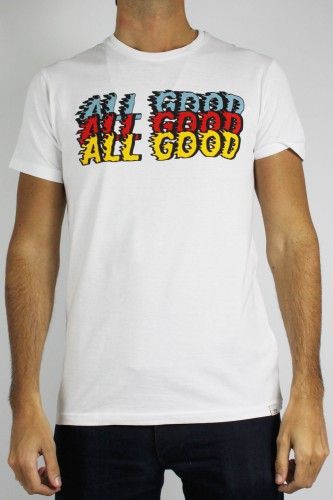T-Shirt manches courtes blanc