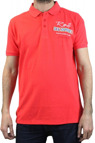 Polo RMS 9948 rouge