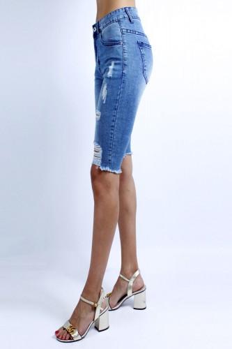 Short en jeans femme ZD727