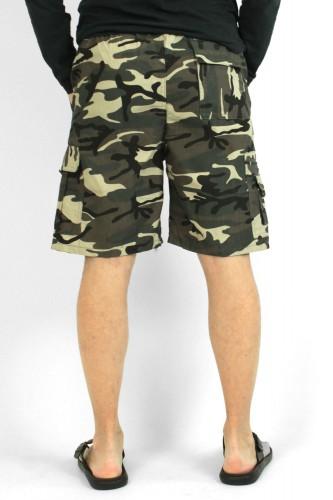 Bermuda cargo camouflage