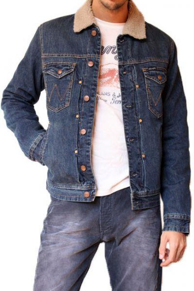 Veste en jean homme de marque pas cher