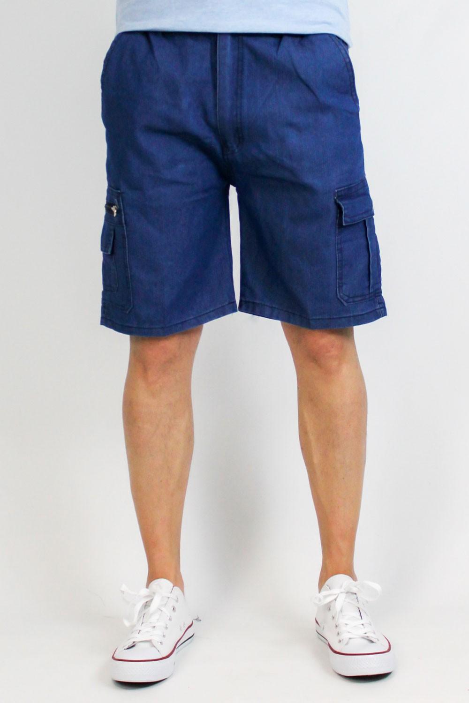 Bermuda en jeans cargo