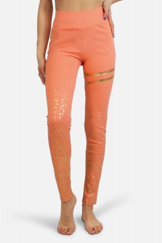 Legging doré