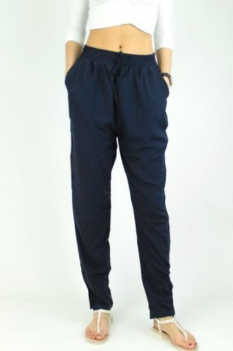 Pantalon coupe large uni