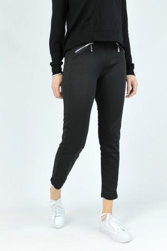 Jogging poches zippées noir