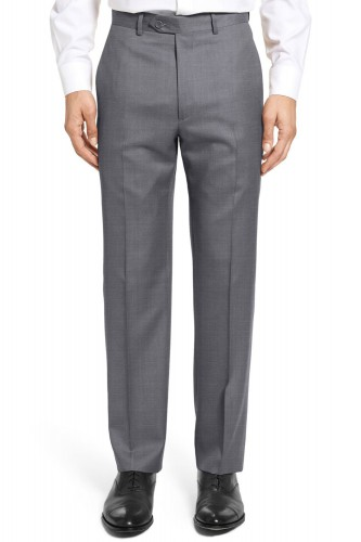 Pantalon en polyviscose gris