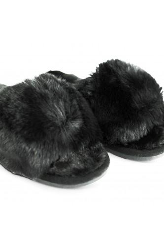 Chaussons Claquettes fourrés