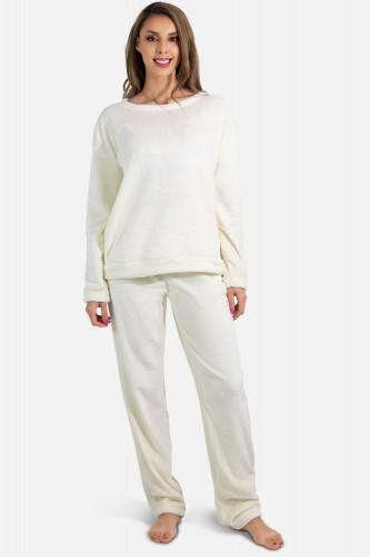 Pyjama polaire manches longues