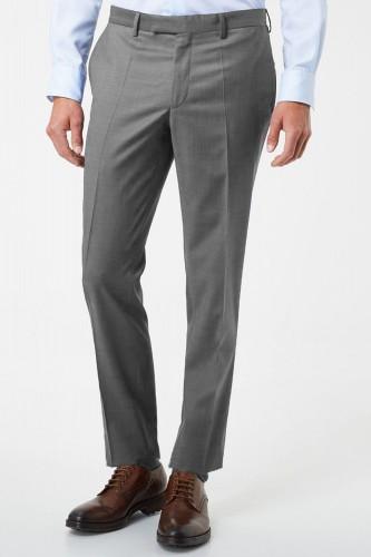 Pantalon gris en polyester