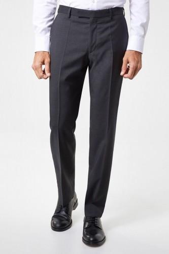 Pantalon anthracite en polyester