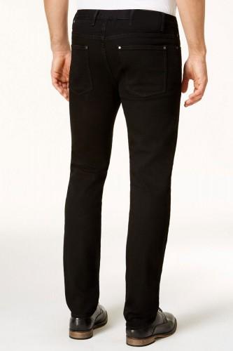 Jeans noir pour homme coupe regular