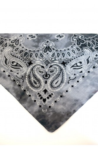 Bandana en coton tie and dye