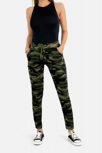 Jogging camouflage de sport