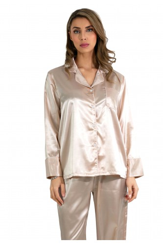 Pyjamas en satin