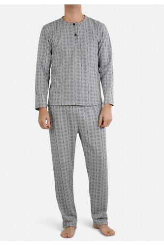 Ensemble pyjama manches longues