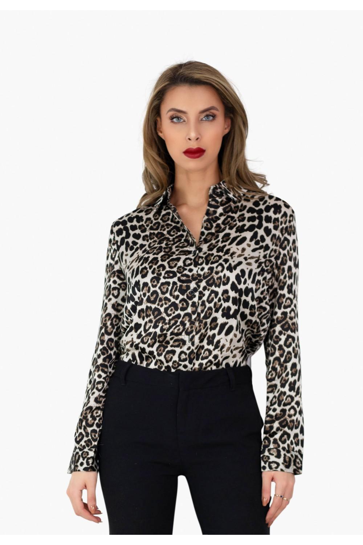 chemisier léopard