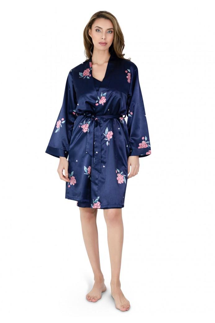 Ensemble kimono nuisette fines bretelles