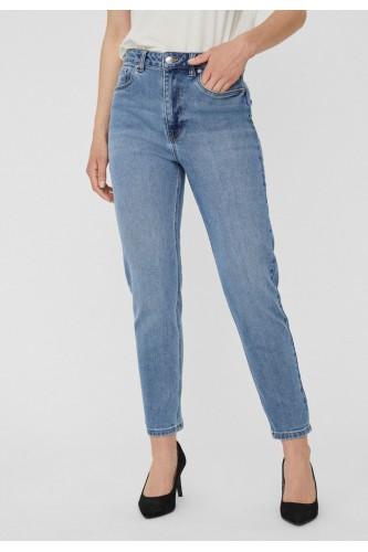 Jeans mom stretch