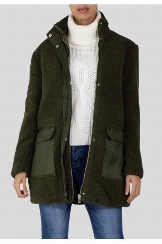 Manteau molletonné